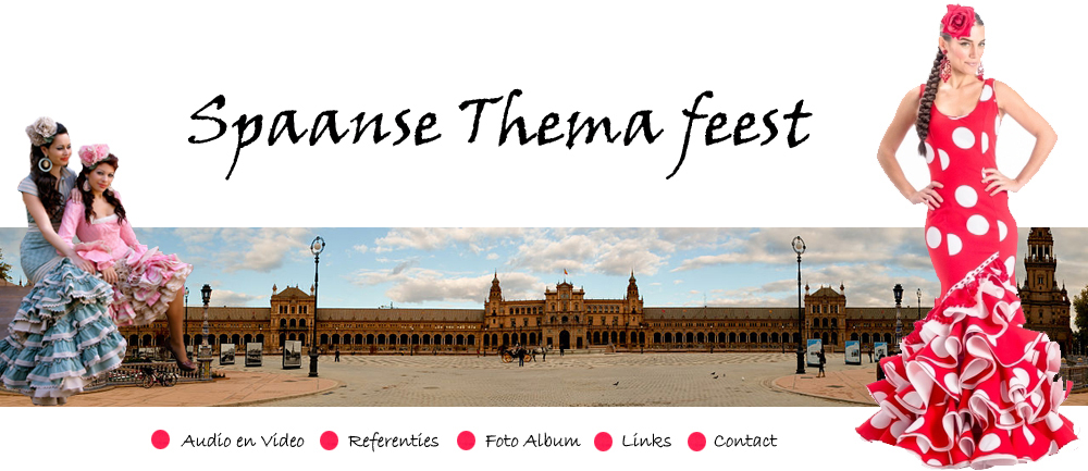 Thema feest spaanse